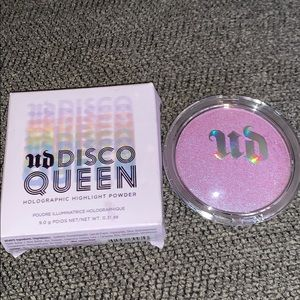 Urban Decay disco queen holographic highlight NWT